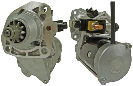 228000-7873 - 12VOLTS 11TOOTH 3.0KW OEM DENSO STARTER, CW