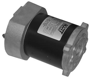 538-4BB1350 - 12VOLT CW 4.5 DIAMETER PERMANENT MAGNET MOTOR SLOT
