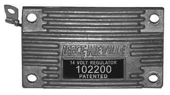 102200 - LEECE-NEVILLE 12 VOLT VOLTAGE REGULATOR