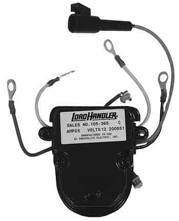 105-365 - 12VOLT VOLTAGE REGULATOR LEECE-NEVILLE