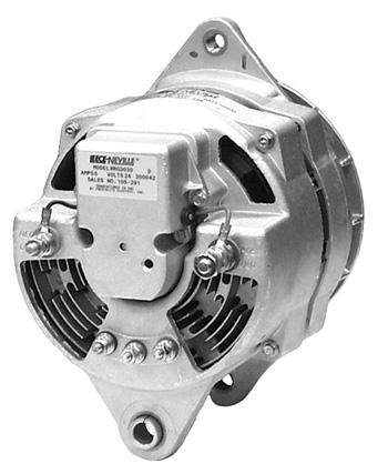 110-446 - 24VOLT 75AMP PRESTOLITE ALTERNATOR, J-180 MOUNT